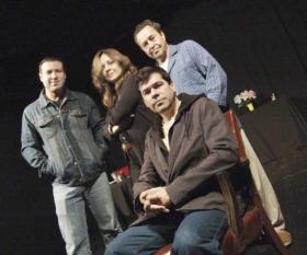 Oswaldo Córdova, Ivonne López Arenal, Orlando Varona y Eddy Diaz Souza (al frente)