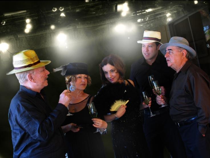 Carlos Rodríguez, Miriam Bermúdez, Yvonne López Arenal, Oswaldo Córdova y Carlos Pittella. Foto: Mario García Joya.