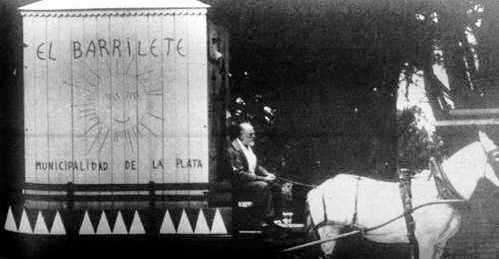 Villafañe y su carreta, foto de 1962