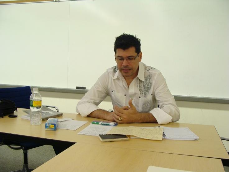 Eddy Díaz Souza en Baruch College