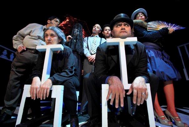 Sandra Garcia, Alain Casalla, Nirma Necuze, Leandro Peraza Viso, Ivette Kellems, Chrisitian Ocon y Anniamary Martinez. Foto: Cristóbal Herrera.