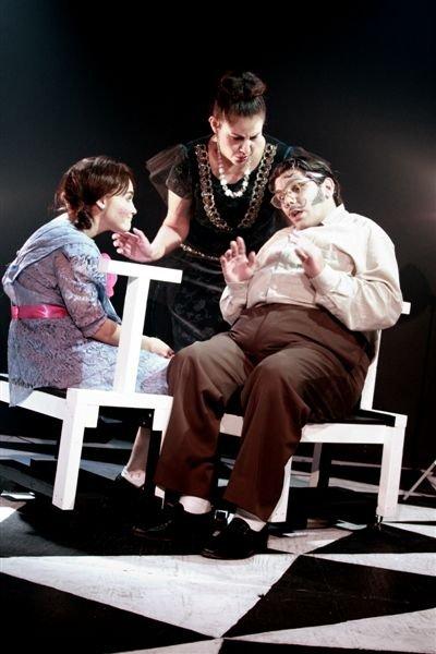 Marcia Stadler, Ivette Kellems y Alain Casalla. Foto: Ernesto García.