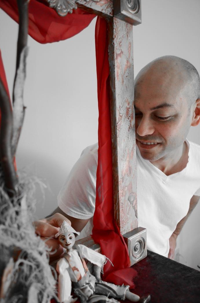 El actor cubano Frank Prieto interpretará la versión teatral del cuento 'Meñique'. Cortesía / Fundación Cuatrogatos/Artefactus Cultural Project.