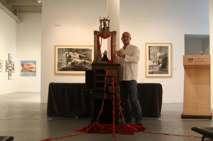 Frank Prieto en Meñique_Foto Centro Cultural Español