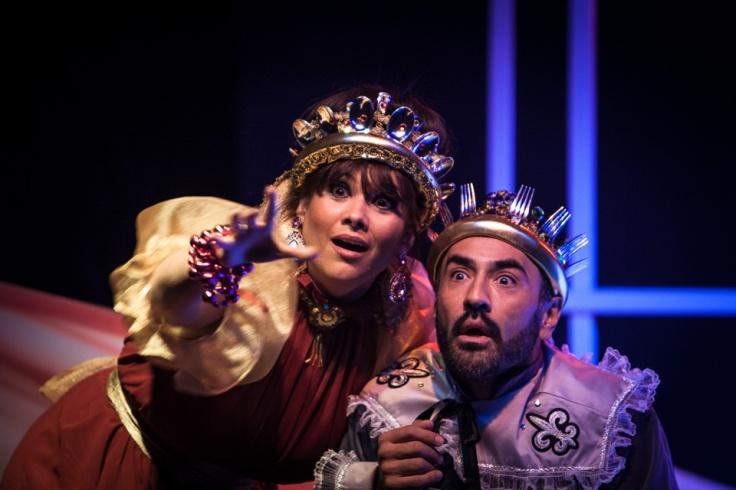 Roxana Montenegro y Francisco Porras. Foto: Julio de la Nuez.