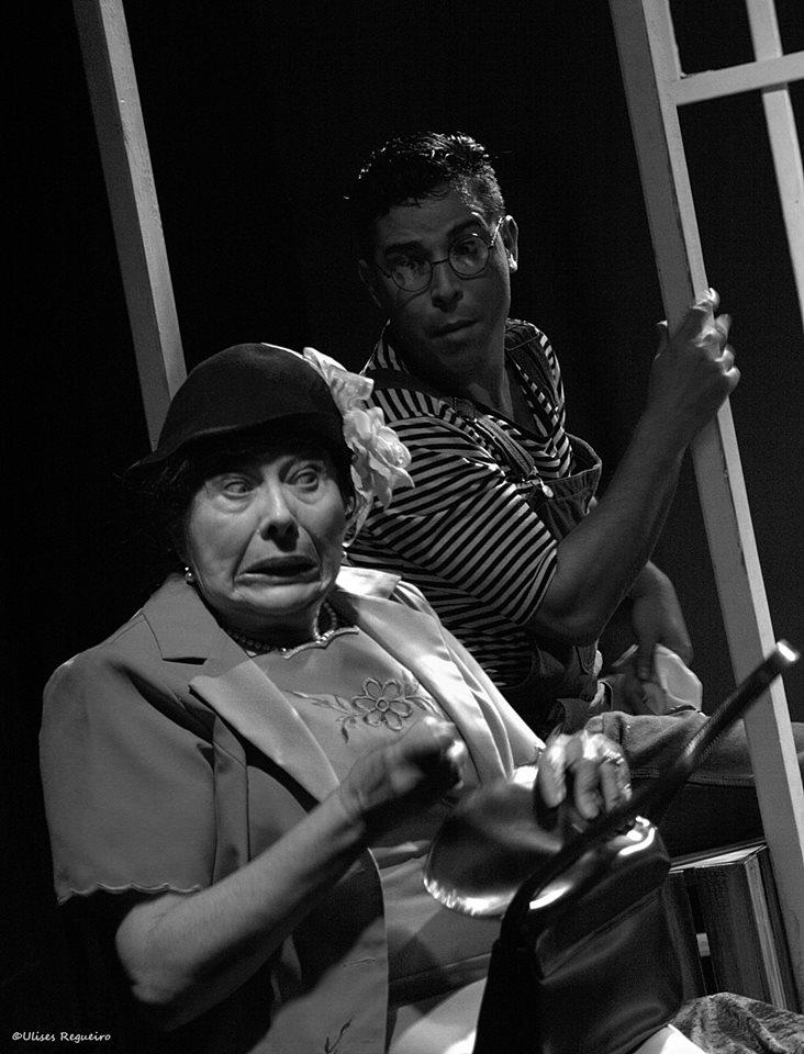 Daisy Fontao y Leandro Peraza. Foto: Ulises Regueiro.
