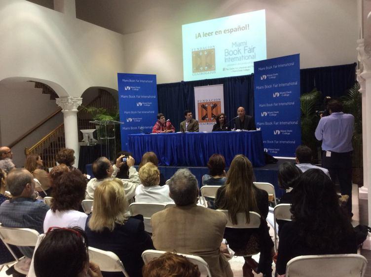 Feria Internacional del Libro. Seminario de Literatura Infantil. Foto: Antonio O. Rodríguez.