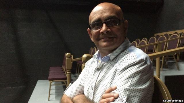 Ariel Bouza, director y actor de Teatro Pálpito. Foto: Jorge Ignacio Pérez.