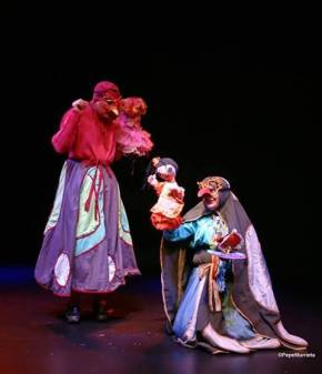 Historia de una muñeca abandonada. Teatro Pálpito. Foto: Pepe Murrieta.