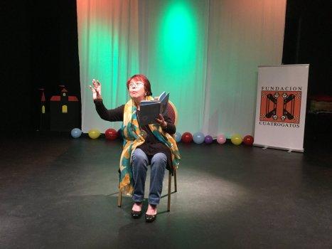 La actriz Daisy Fontao cuenta un cuento