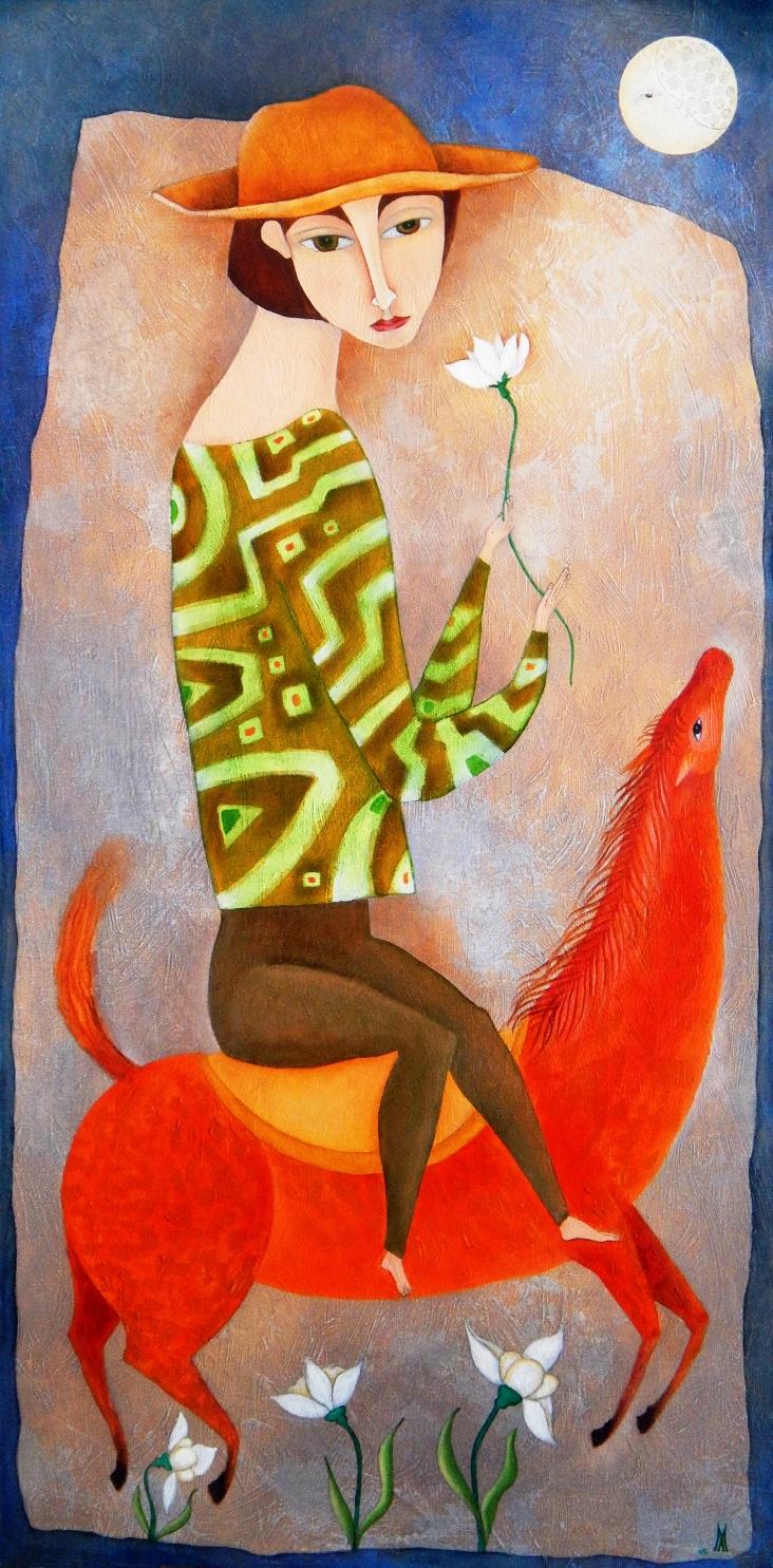 Imagen de la muestra 'Con buenos ojos', de la artista cubana María Sánchez.