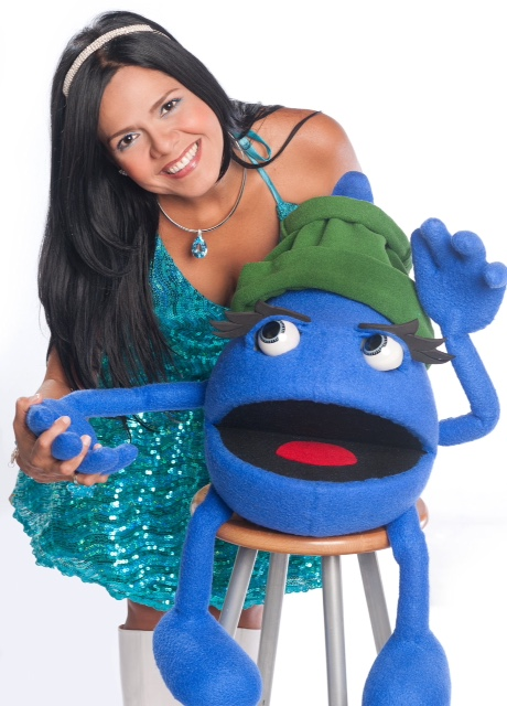 Lluvia, personaje creado e interpretado por Coralia Torrealba.