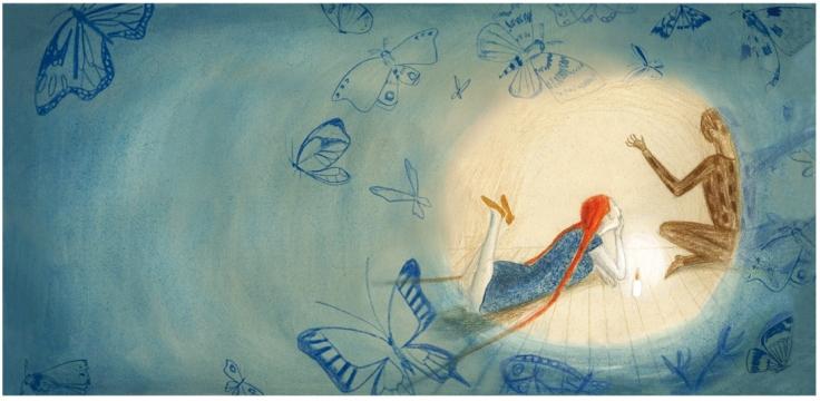 Ilustración de Iratxe López de Munáin.